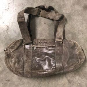 Vintage look leather purse